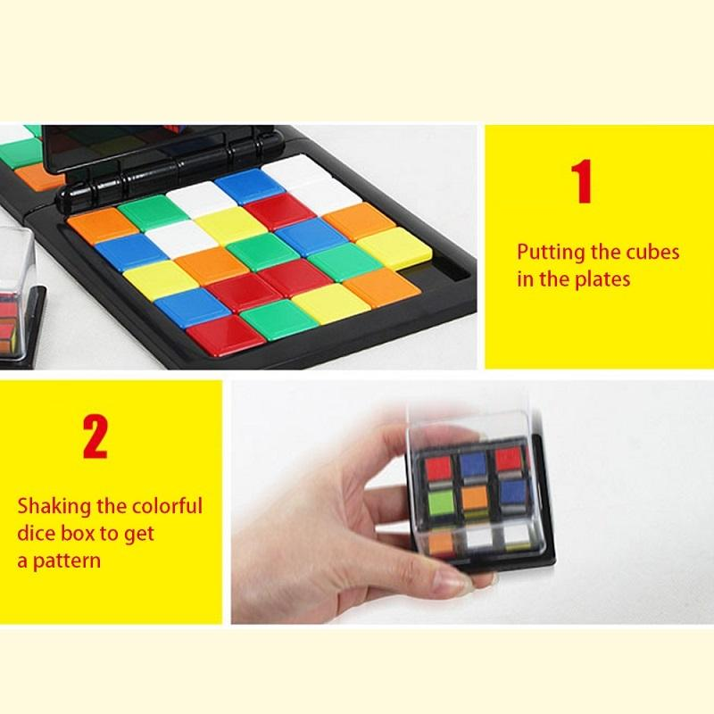 Rubik's Race Board Game