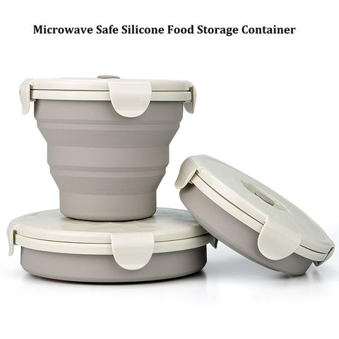 Image of Collapsible Silicone Food Container