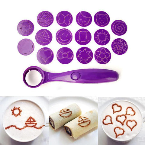 Image of spoon cake decorating