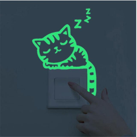 Image of Luminous Cat Sticker