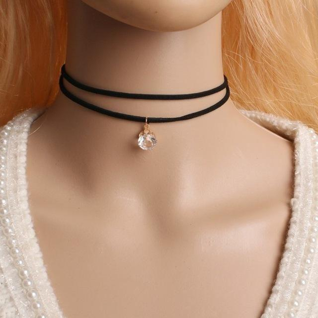 Round Choker Necklace