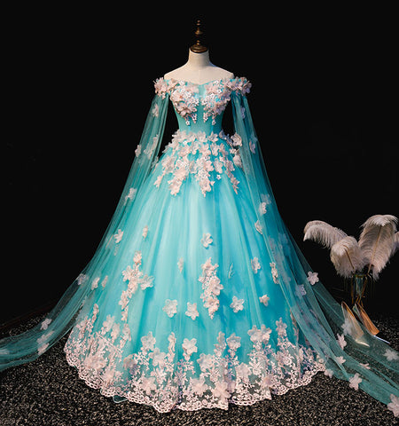 products/100-real-sky-blue-pink-embroidery-silk-flowers-court-medieval-dress-renaissance-Gown-queen-Victoria-Marie_1.jpg