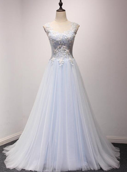 light blue prom dress 2020