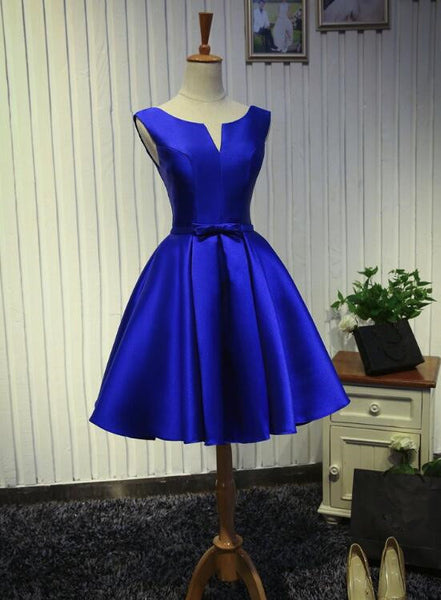 Adorable Blue Homecoming Dresses 2018, Gorgeous Party Dresses, Formal Dress 2018