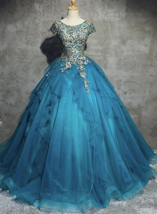Gorgeous Tull Ball Princess Gowns, Handmade High Quality Party Gowns ...