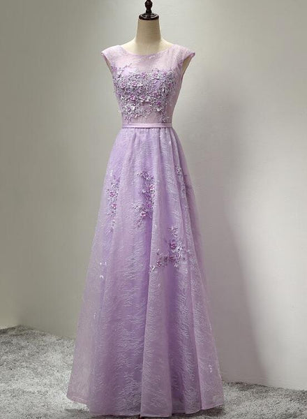 lace long party dress
