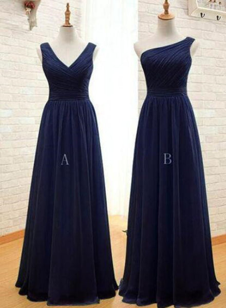 navy blue bridesmaid dress 2019