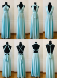 Beautiful Spandex Multi Way Bridesmaid Dress, Women Summer Dress,Convertible Dresses