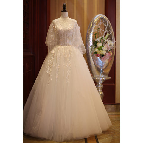 products/CharmingBeautifulIvoryTullewithFlowersLongWeddingPartyDress_TulleSimpleWeddingDress.jpg