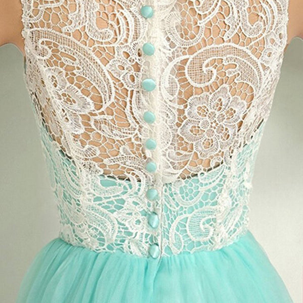 Lovely Tulle with Lace Bodice Party Dress, New Sweet 16 Dresses