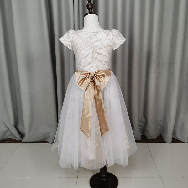 Cute Flower Girl Dress, Tulle Short Flower Girl Dresses