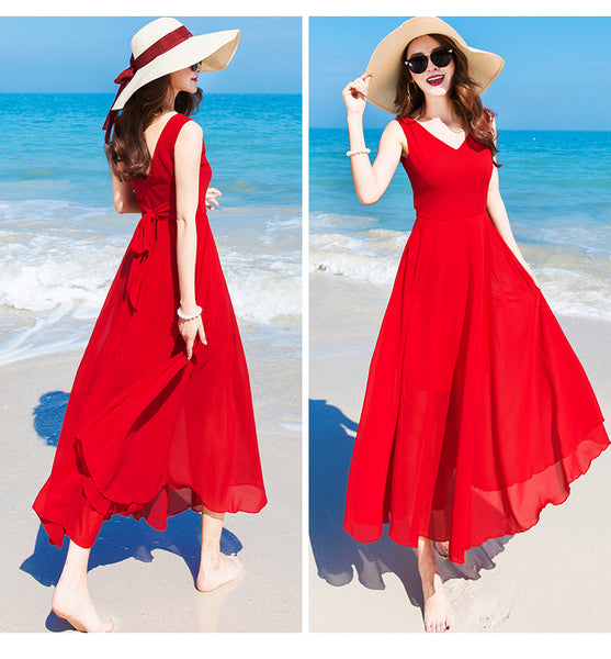 Beautiful Chiffon Maxi Dress, Women Long Dresses, Women Dress