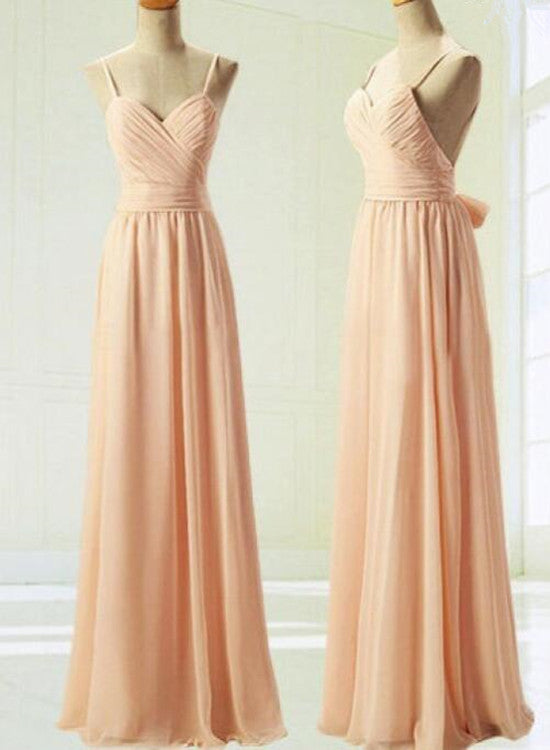 Pink Bridesmaid Dresses Simple Pretty Soft Pink Prom Dresses