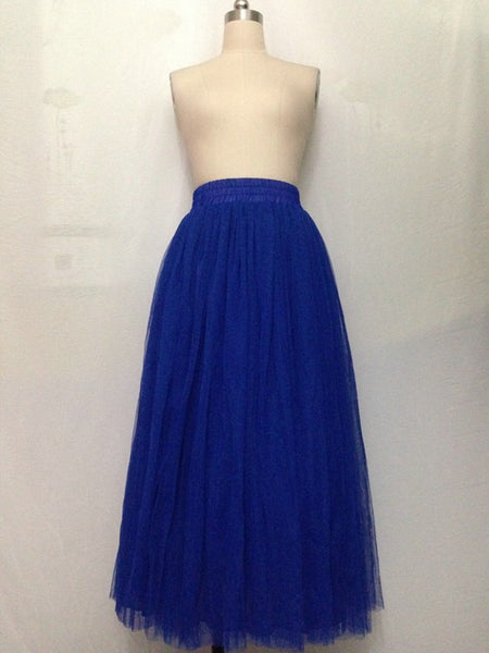 Lovely Tulle Skirt, Tulle A-Line Skirts, Women Beautiful Skirts