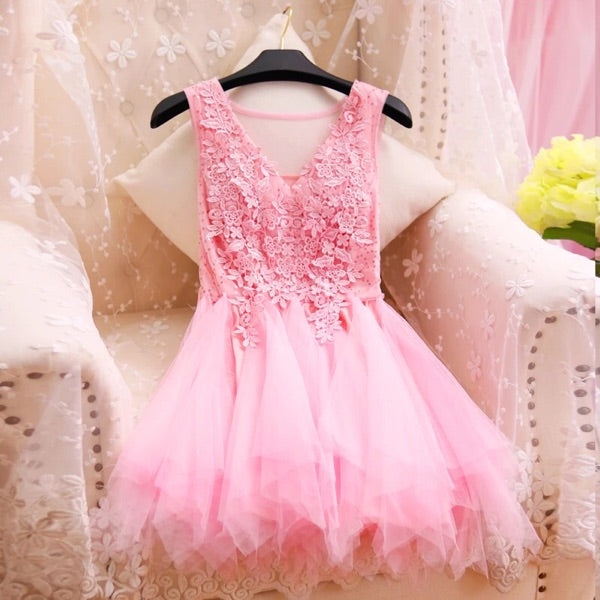 Lovely Women Tulle Dresses, Short Party Dresses, Cute Dresses