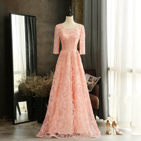 products/pinklacelongbridesmaiddress.jpg