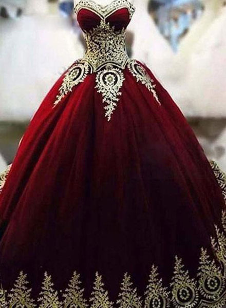 Glam Burgundy Tulle Prom Gowns, Vintage Style Party Dresses, Sweet 16 Formal Gowns