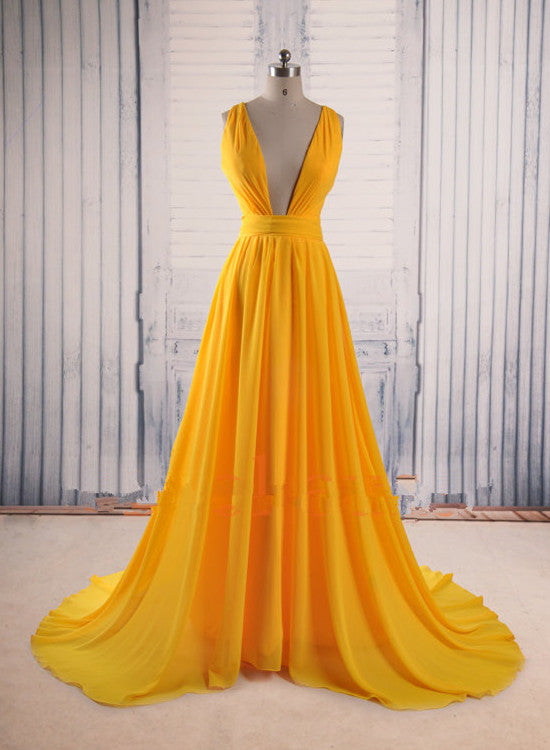 Yellow Party Dresses