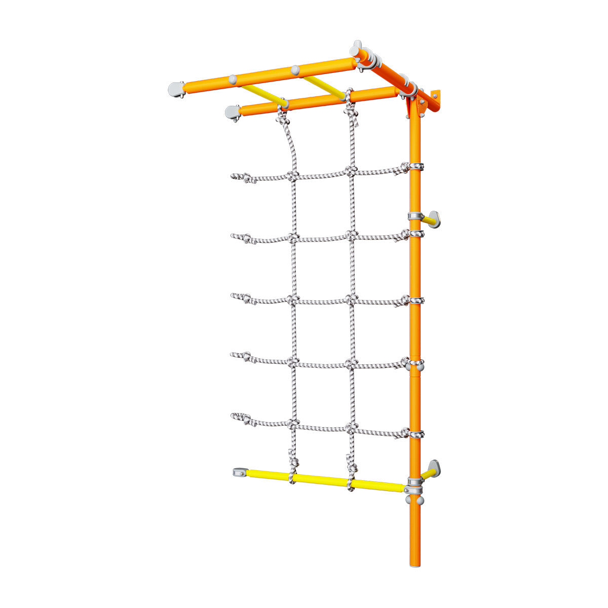 Wall - Mounted Monkey Bars Extension - BrainRichKids