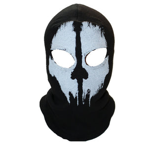 Men Ghost Skull Full Face Warmly Mask
