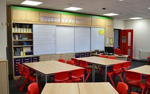 Transform your classroom and improve outcomes with a bespoke teaching wall