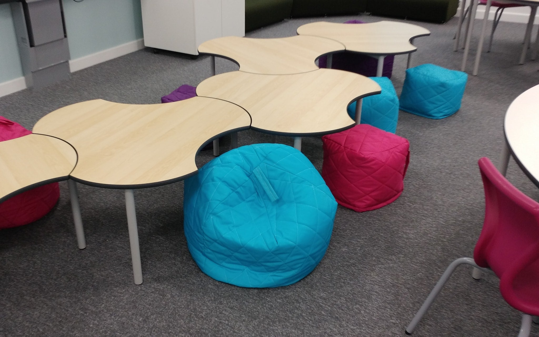 Classroom project two by Four Square Furniture