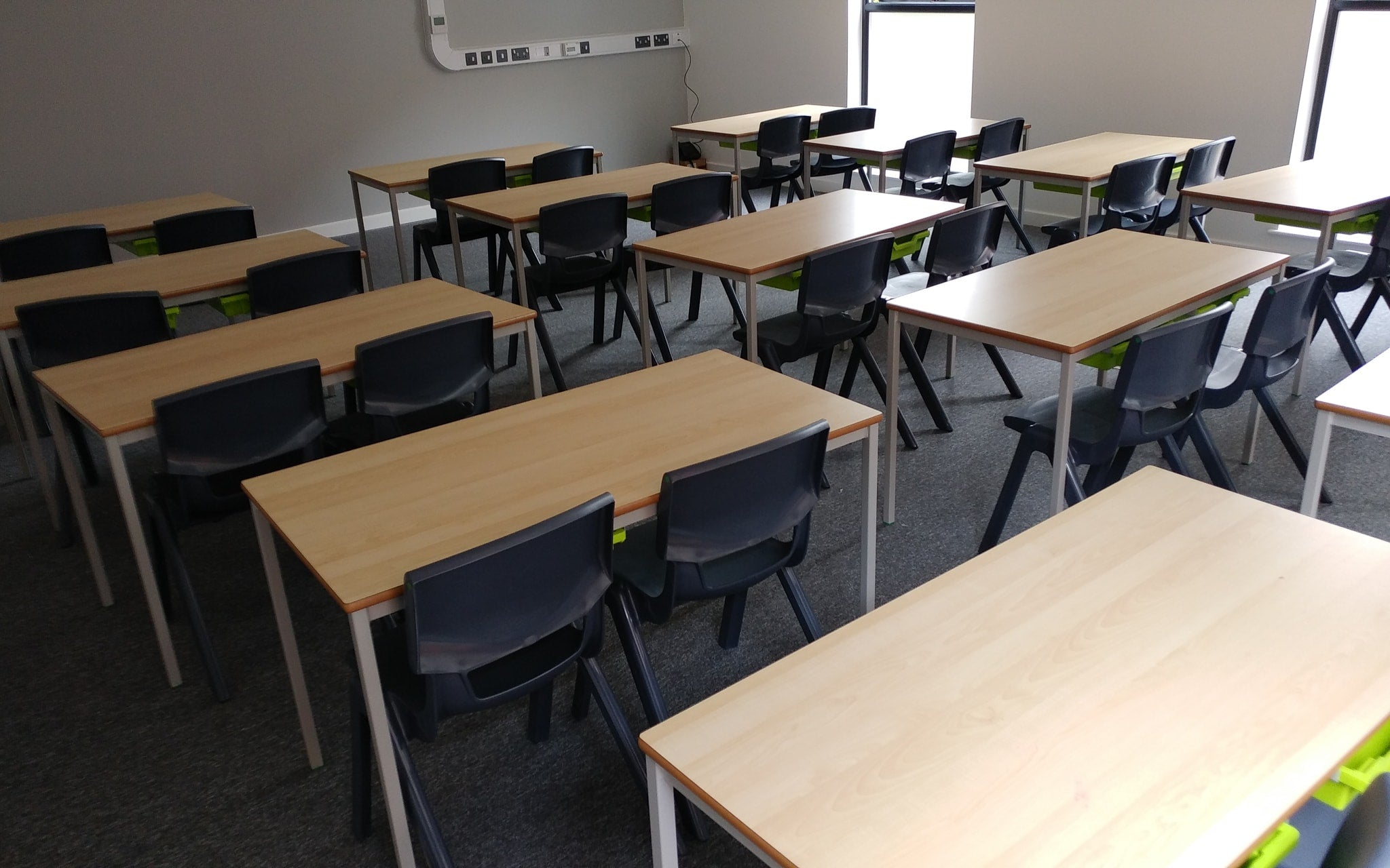 Classroom project four by Four Square Furniture