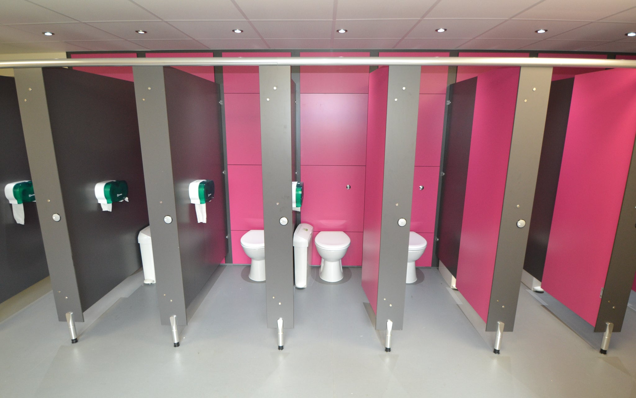 Washrooms project four by Four Square Furniture