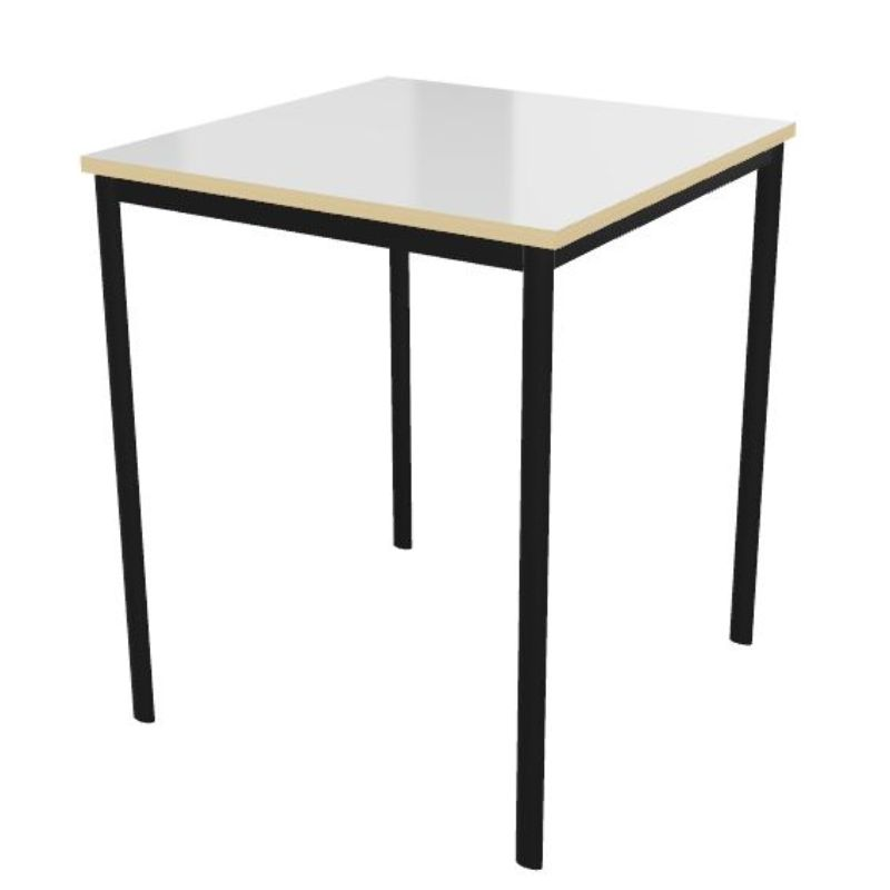 Whiteboard Top Square Welded Frame Classroom Tables