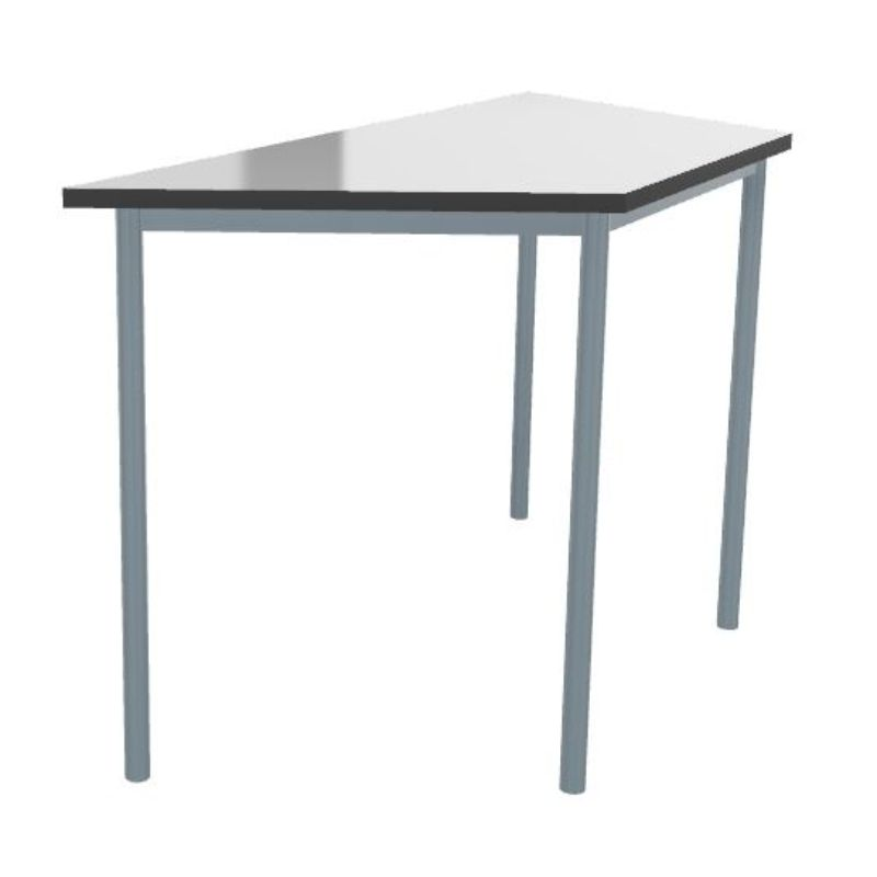 Whiteboard Top Montana Trapezoidal Heavy Duty Classroom Tables