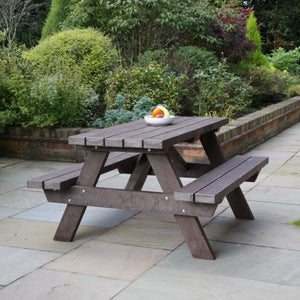 Bench Picnic Bench in Recycled Plastic