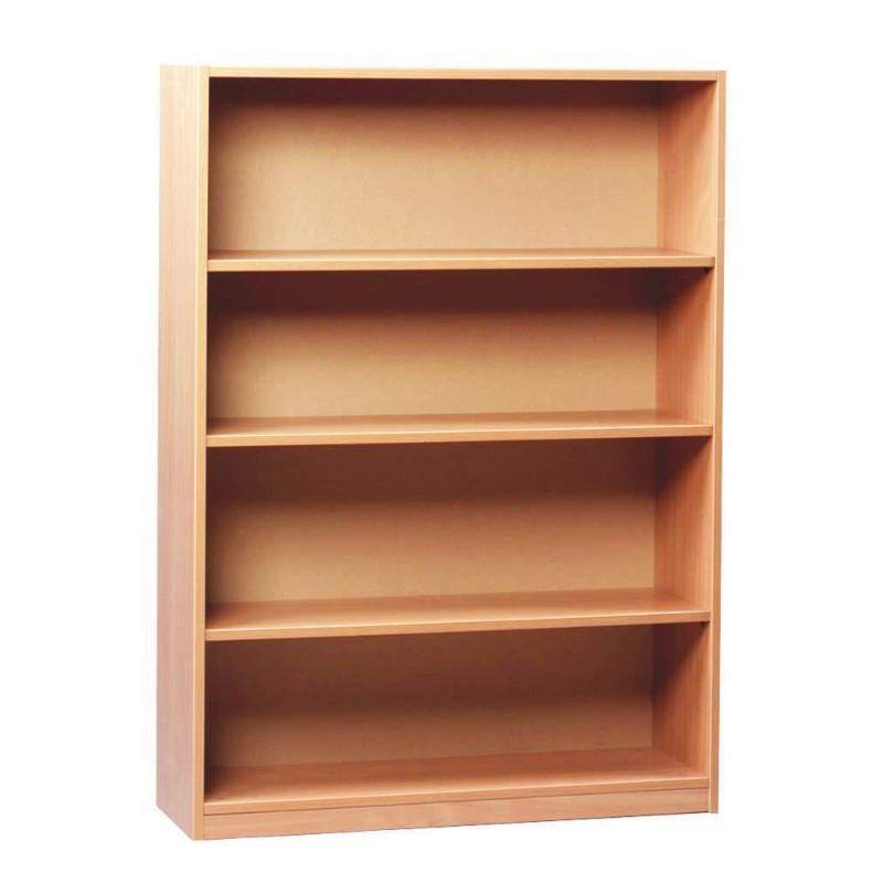 Bookcase 1250mm High / Beech Royal Open Bookcases 1250mm High / Beech