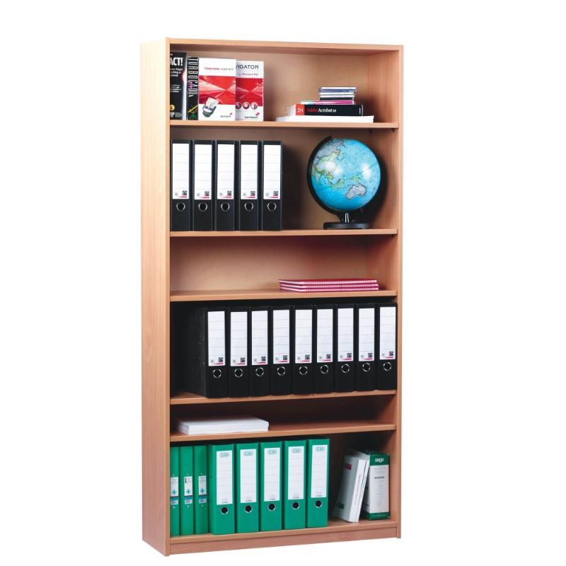 Bookcase 1800mm High / Beech Royal Open Bookcases 1800mm High / Beech