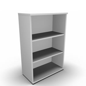 Bookcase 800 x 400 x 1200mm / White Synergy Bookcases