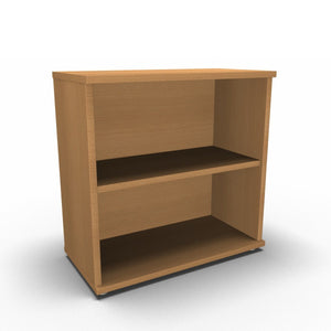 Bookcase 800 x 400 x 800mm / Beech Synergy Bookcases