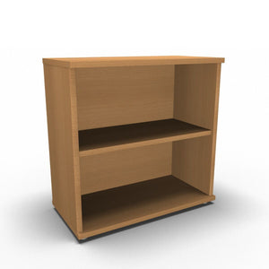 Bookcase 800 x 400 x 800mm / Beech Synergy Bookcases 800 x 400 x 800mm / Beech