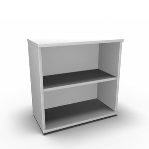 Bookcase 800 x 400 x 800mm / White Synergy Bookcases