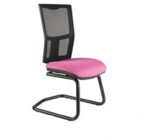Cantilever chair No Arms / Standard / Black Clipper Mesh Back Cantilever Chair No Arms / Standard / Black