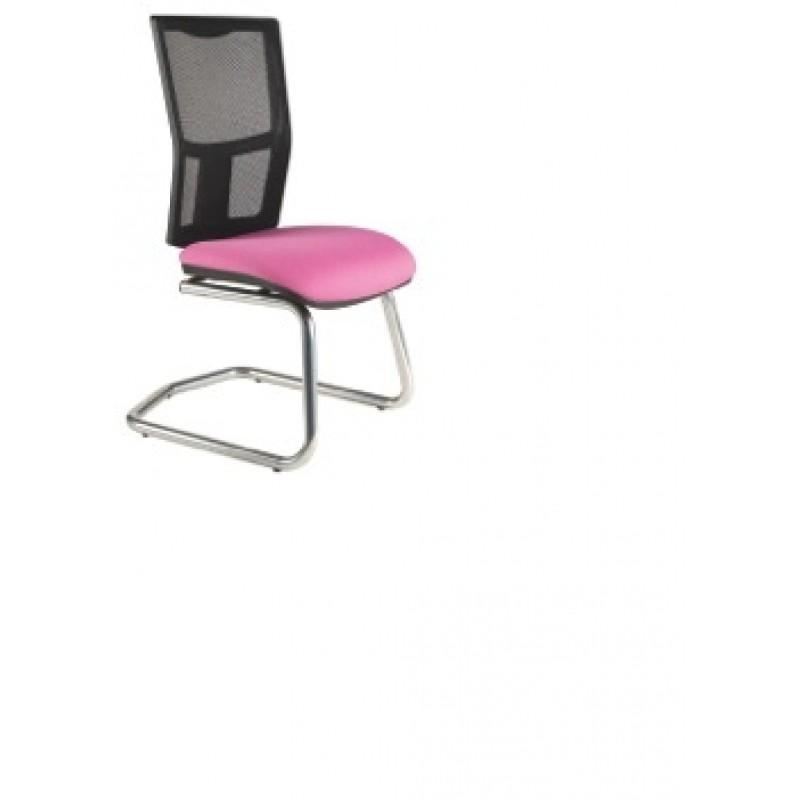 Clipper Mesh Back Cantilever Chair