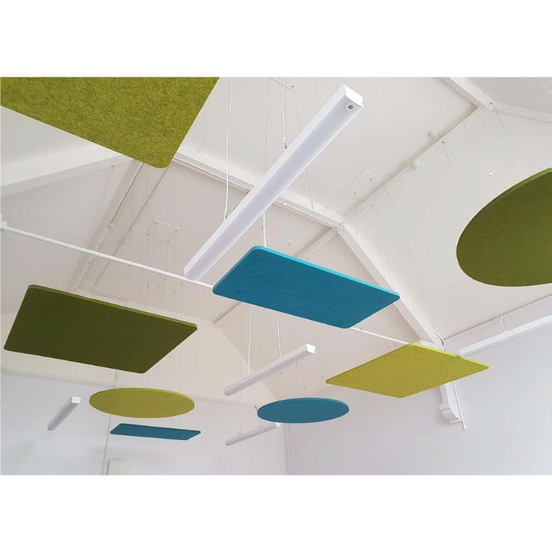 Aurora Acoustic Ceiling Rafts - Circles