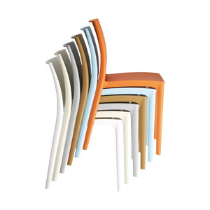Chair Ikon One Piece Poly Dining Chair