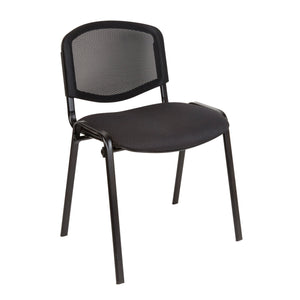 Chair Mesh Back and Black frame / Black ISO Chair