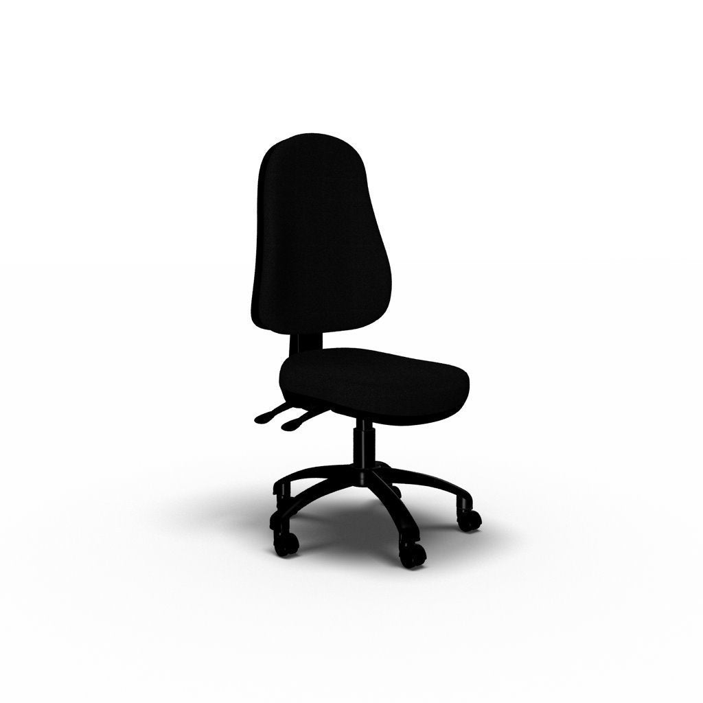 Chair No arms / Black Ergo Operator Chair