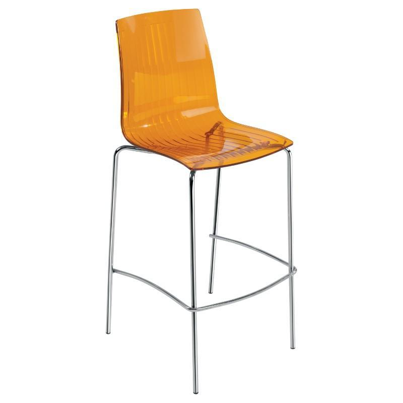 chair Shard Translucent Cafe Stool