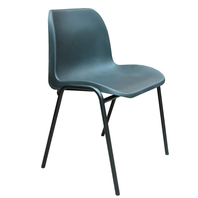 classroom chairs Blue Hille Eco Chair Blue
