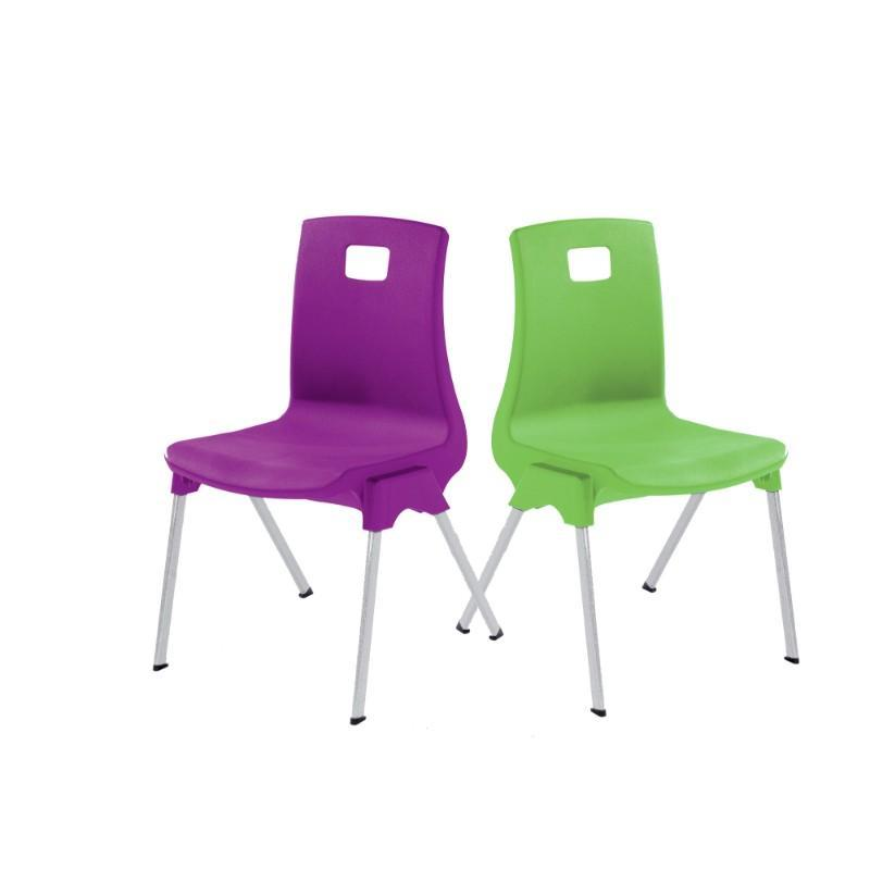 classroom chairs Size 1 - Seat Height 260 mm Metalliform ST Classroom Chair Size 1 - Seat Height 260 mm