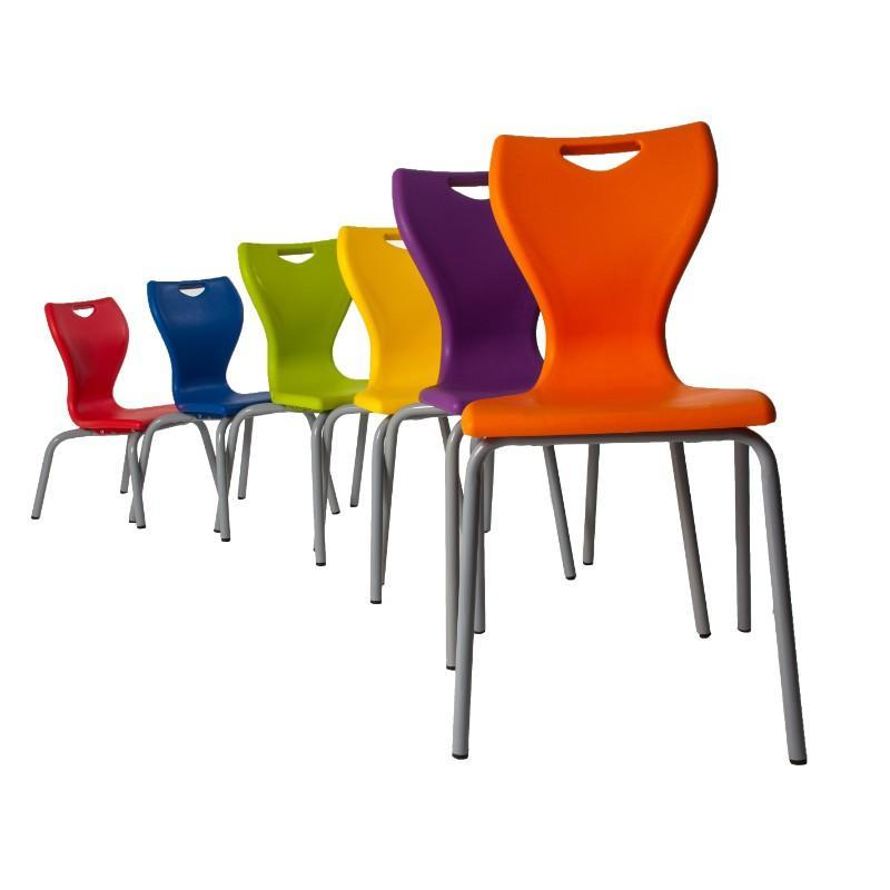 classroom chairs Size 1 - Seat Height 260 mm Spaceforme EN Classic Classroom Chair Size 1 - Seat Height 260 mm