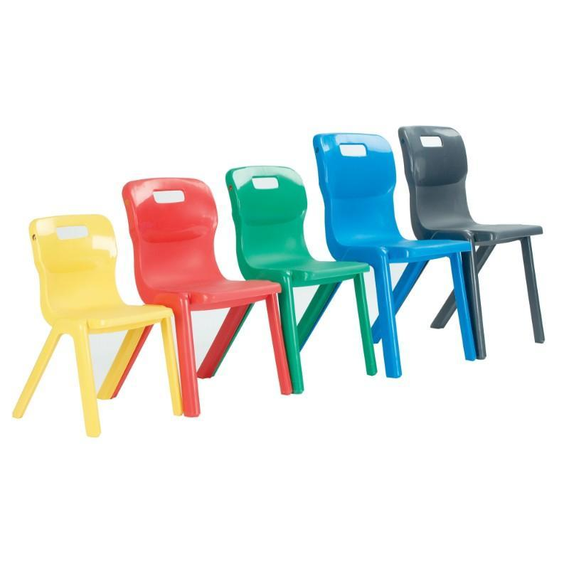 classroom chairs Size 1 - Seat Height 260 mm Titan One-Piece Classroom Chair Size 1 - Seat Height 260 mm