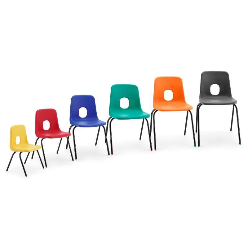classroom chairs Size 1 - Seat Height 270 mm Hille Series E Classroom Chair Size 1 - Seat Height 270 mm