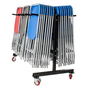 Classroom Exam Chair Trolley, 60 Chairs